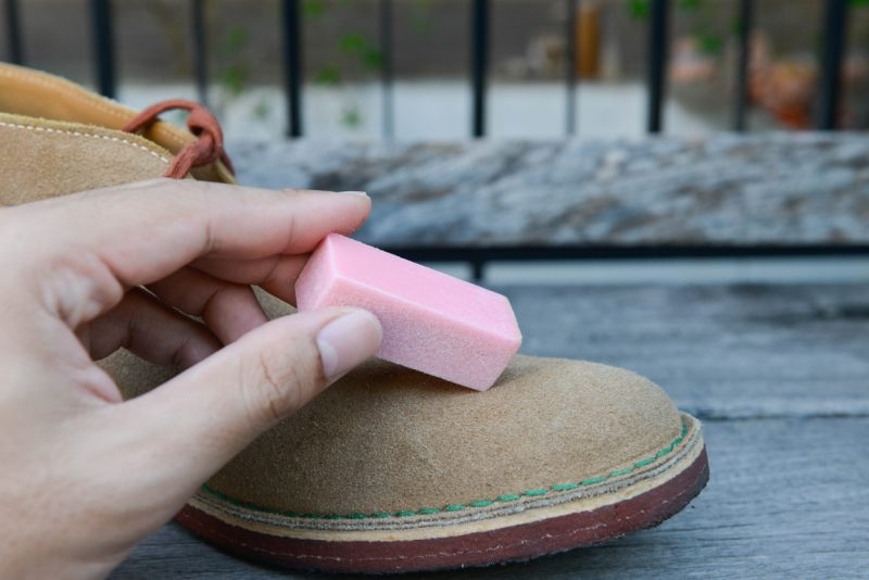 chaussures nubuck entretien